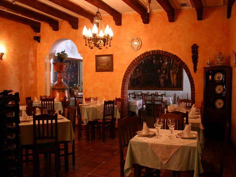 Restaurante de Hosteria Peña Sagra