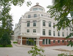 Vista generaldel Hotel Balneario de Solares