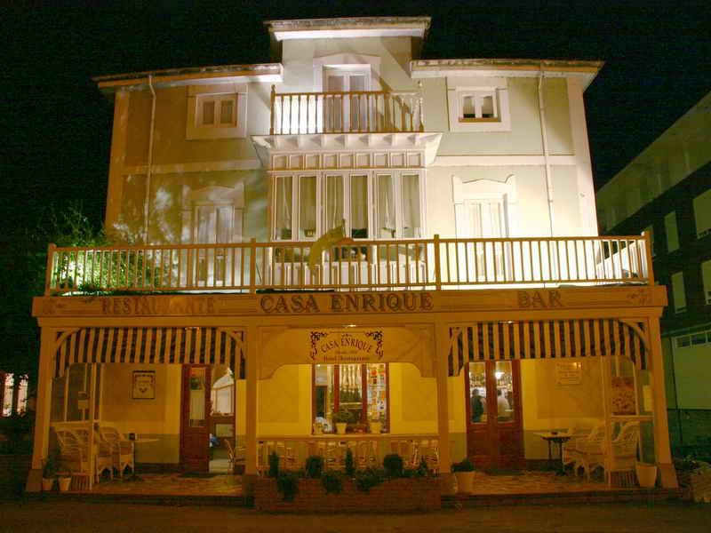 Vista general del Hotel Casa Enrique