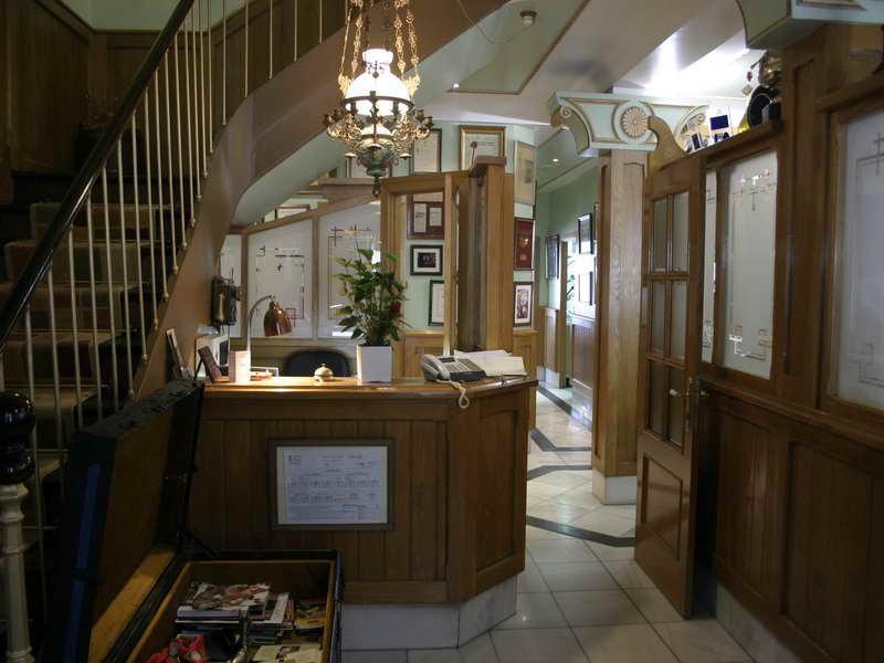 Recepción del Hotel Casa Enrique