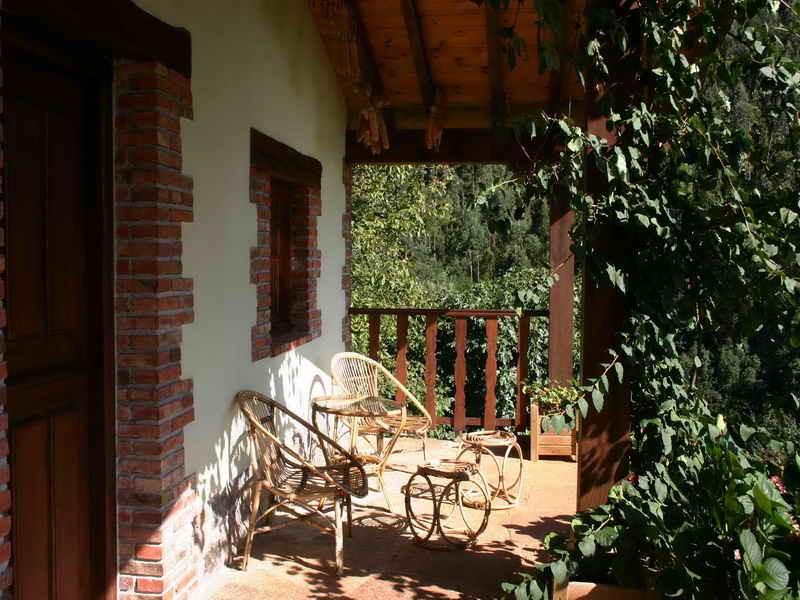 Los Acebos de Peña Cabarga magnífico porche
