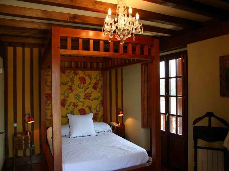 Posada El Hidalgo cuidada decoración de las habitaciones