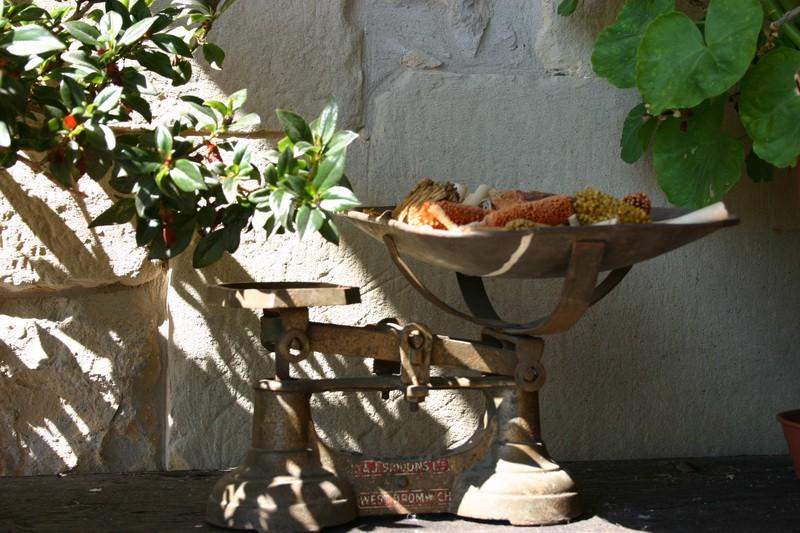Detalle de decoración en Posada La Cotia