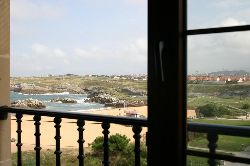 Posada La Morena Vista de la playa desde las habitaciones
