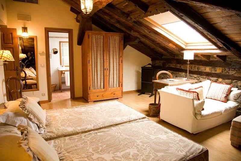 Hotel Palacio Torre de Ruesga habitación Suite Junior