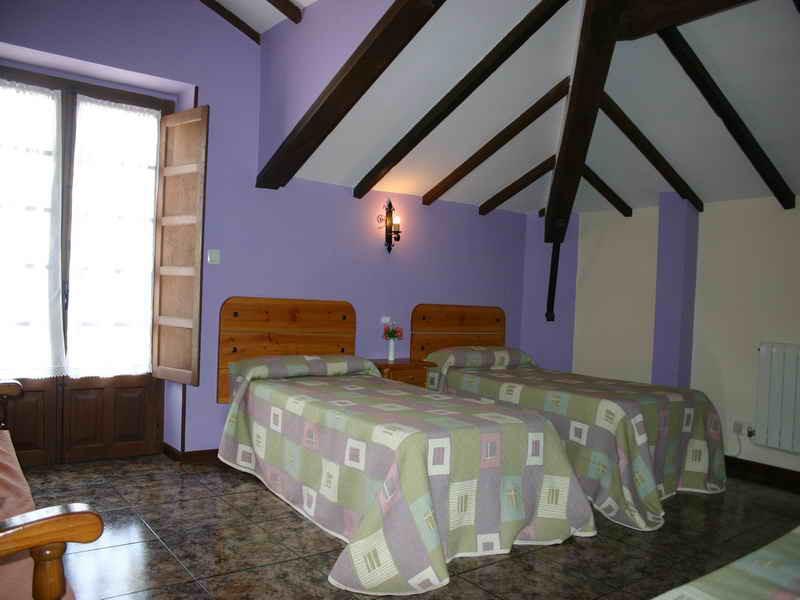 Viviendas Rurales La Fragua amplias habitaciones