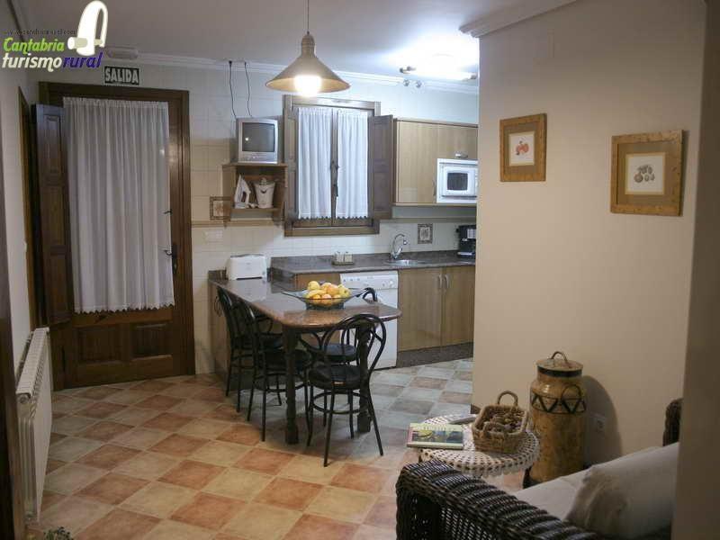 Viviendas rurales Santa Eulalia detalle de la cocina