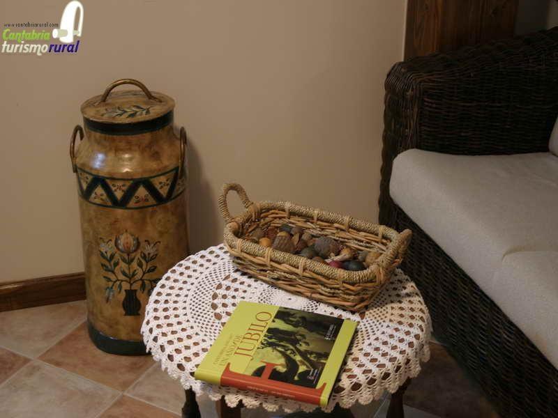 Viviendas rurales Santa Eulalia decoración